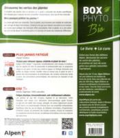 Boxphyto ; Retrouvez La Vitalité Grâce Aux Plantes - 4ème de couverture - Format classique