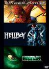 DVD & Blu-ray - Spider-Man 2 + Hellboy + Hulk