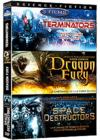 DVD & Blu-ray - Destruction - Coffret 3 Films : Terminators + Dragon Fury + Space Destructors