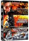DVD & Blu-ray - Action 3 - Coffret 3 Films : Soldats Du Feu + Mission Commando + Péril En Altitude