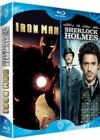 DVD &amp; Blu-ray - Coffret Robert Downey Jr : Iron Man , Sherlock Holmes