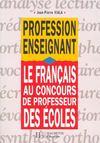 Le Francais Au Concours De Professeur Des Ecoles