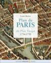 Plan de Paris dit plan Turgot 1734-1739  - Louis Bretez