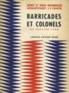 Barricades et colonels 24 jancier 1960