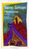 Livres - Memoires ; Extraits