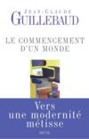 Livres - Le commencement d'un monde