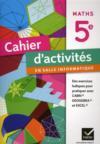 Maths ; 5ème ; cahier d'activités en salle informatique (édition 2011)