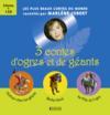 Livres - 3 contes d'ogres et de géants ; coffret