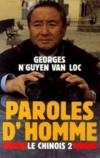 Paroles d'homme (Le Chinois tome 2)