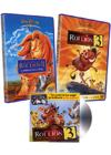 DVD &amp; Blu-ray - Le Roi Lion Ii - L'Honneur De La Tribu + Le Roi Lion 3, Hakuna Matata