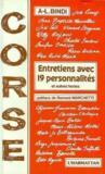 Corse ; entretiens avec 19 personnalités