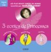Livres - 3 contes de princesses ; la Belle au Bois dormant ; Blanche-Neige ; Cendrillon