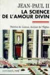 Livres - La Science De L'Amour Divin, Therese De Lisieux Docteur De L'Eglise