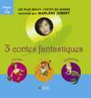 Livres - Coffret 3 contes fantastiques ; Pinocchio, Peter Pan, la petite sirène