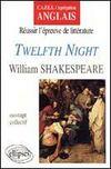 Twelfth Night William Shakespeare Reussir L'Epreuve De Litterature Capes/Agregation Anglais