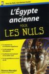 Livres - L'Egypte ancienne pour les nuls