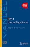 Droit des obligations ; licence, master, concours (edition 2010/2011)