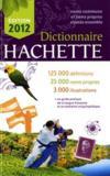 Dictionnaire Hachette (édition 2012)