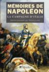 Livres - Mmoires de Napolon t.1 ; la campage d'Italie