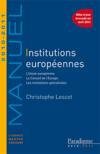 Institutions europeennes (edition 2010/2011)