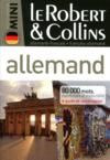 Dictionnaire mini ; le Robert & Collins allemand