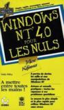 Windows Nt 4.0 Microreference Les Nuls