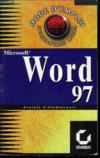 Mode d'emploi : word 97