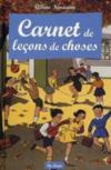 Livres - Carnet de leons de choses