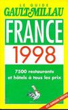 Livres - France 1998. le guide GaultMillau