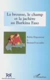 Brousse Le Champ Et La Jachere Au Burkina Faso
