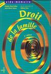 Droit de la famille 2eme edition aide-memoire