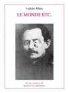 OEUVRES COMPLETES ; oeuvres complètes t.3 ; le monde etc.