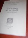 L'honneur et la honte, leur expression dans les romans en prose du Lancelot-Graal (XIIe-XIIIe siècles).