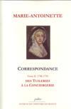 Correspondance t.2 ; des tuileries à la conciergerie (1788-1793)