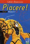 Piacere 2e Annee Lv2 Cahier Exercic 2008