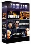 DVD &amp; Blu-ray - Thriller - Coffret - Suspicion + Agents Secrets + Influences