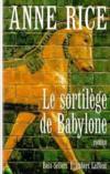 Livres - Le sortilège de Babylone