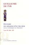 Histoire des régions d'Outre-Mer depuis Mahomet t.3 (1104-1137)
