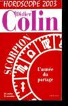 Scorpion Horoscope 2003