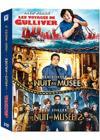 DVD & Blu-ray - Les Voyages De Gulliver + Nuit Au Musée 1 & 2