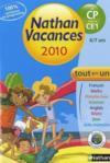Nathan Vacances ; Du Cp Vers Le Ce1 ; 6/7ans