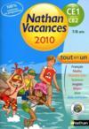 Nathan Vacances ; Du Ce1 Vers Le Ce2 ; 7/8 Ans