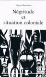 Négritude et situation coloniale