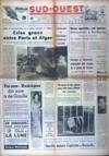 Presse - Sud Ouest 5 Heures Du Matin N°5927 du 19/09/1963