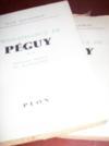 Connaissance de Péguy.