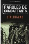 Livres - Paroles de combattants Stalingrad
