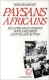 Paysans africains : des africains s'unissent pour ameliorer leur village au Togo