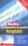 Anglais poche dictionnaire en francais