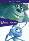 DVD &amp; Blu-ray - Coffret Pixar - Monstres &amp; Cie + 1001 Pattes