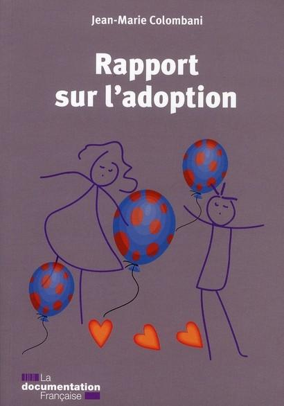 Rapport sur l'adoption  - Jean-Marie Colombani